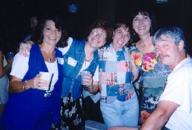 Jean,Sara,Gail,Linda and Steve